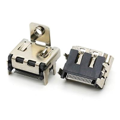 19p PCB Mount HDMI A/F Vertical HDMI connector
