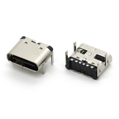 6 pin type c usb connector