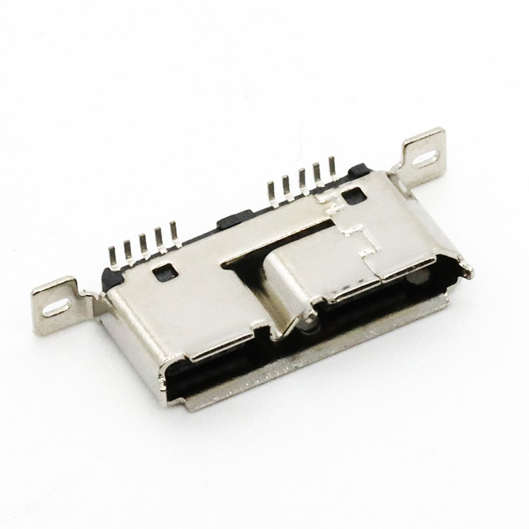 Micro USB 3.0 Female Connector